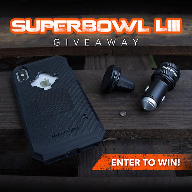 Super Bowl LII Rokform Giveaway