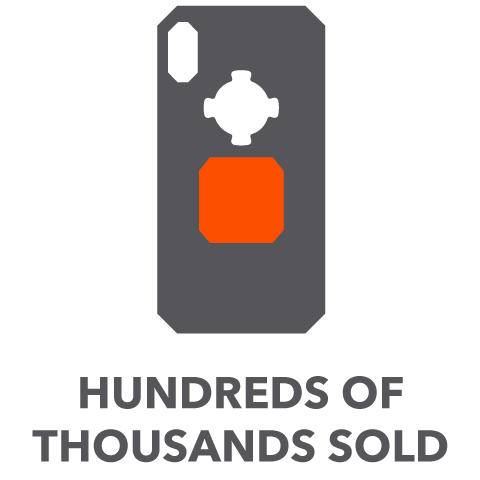 Hundreds of Thousands Sold