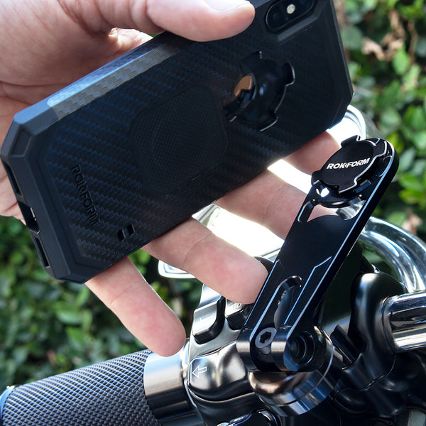 rokform motorcycle perch mount for phone