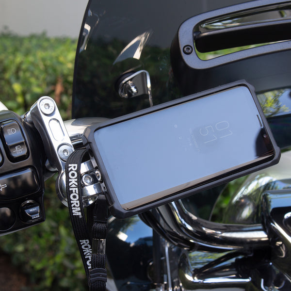 rokform perch motorcycle phone mount