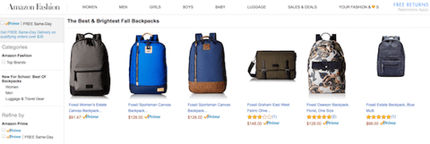 Amazon Backpack Deal