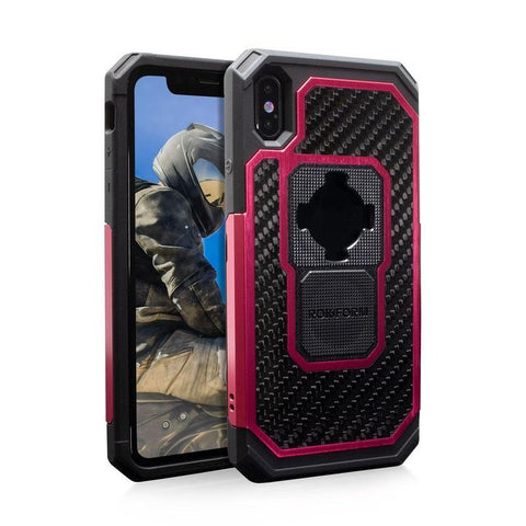 rokform fuzion pro red iphone xs max