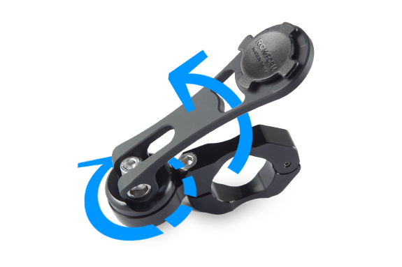 motorcycle mount adjustability
