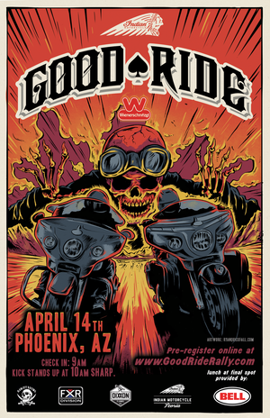 The Good Ride >> Supporting The Good Ride Rally Rokform Blog