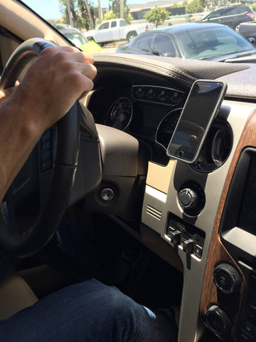 Ford F-150 magnetic phone mount