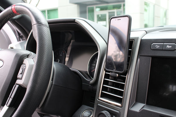 Ford F-Series Raptor car phone mount