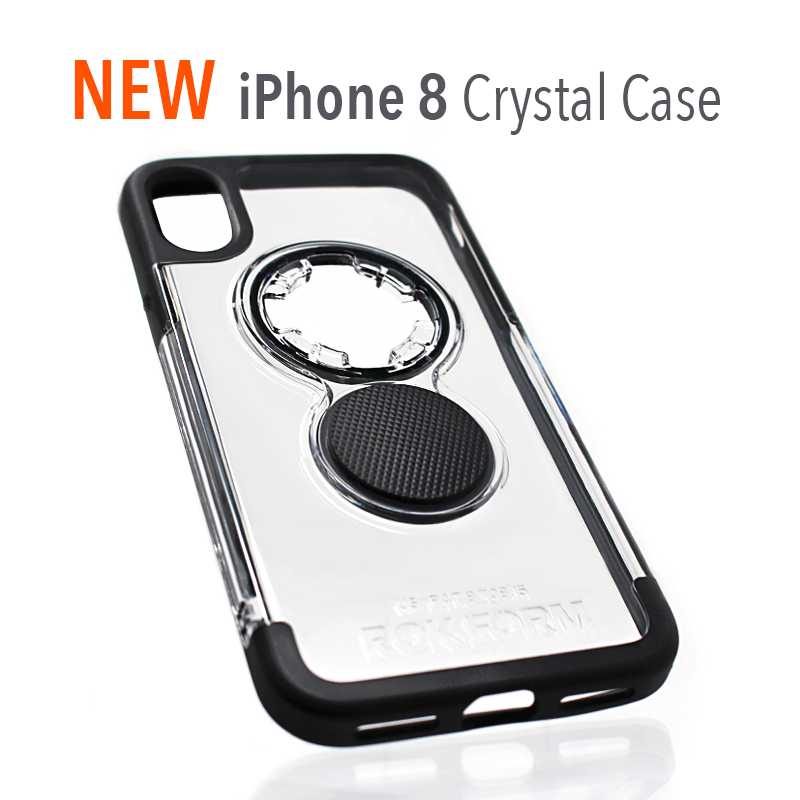 New iPhone 8 Crystal Case