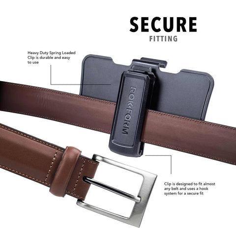 Rokform Belt CLip Secure fit