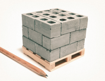 Mini Materials Cinder Blocks