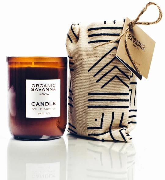 Mother's Day Gift Guide 2021 - Organic Savanna candle
