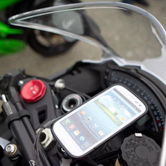 fork clamp phone mount, motorcycle phone mount, rokform mount