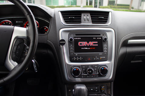 gmc acadia phone mount 1