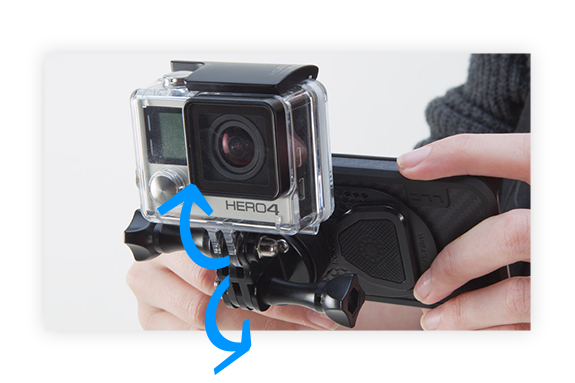 Adjustble GoPro Mount
