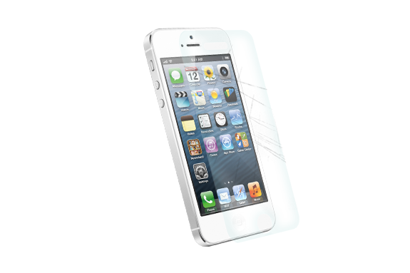 iPhone 5/5s protective screen protector
