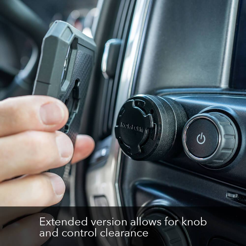 Extended RokLock Car Dash Mount