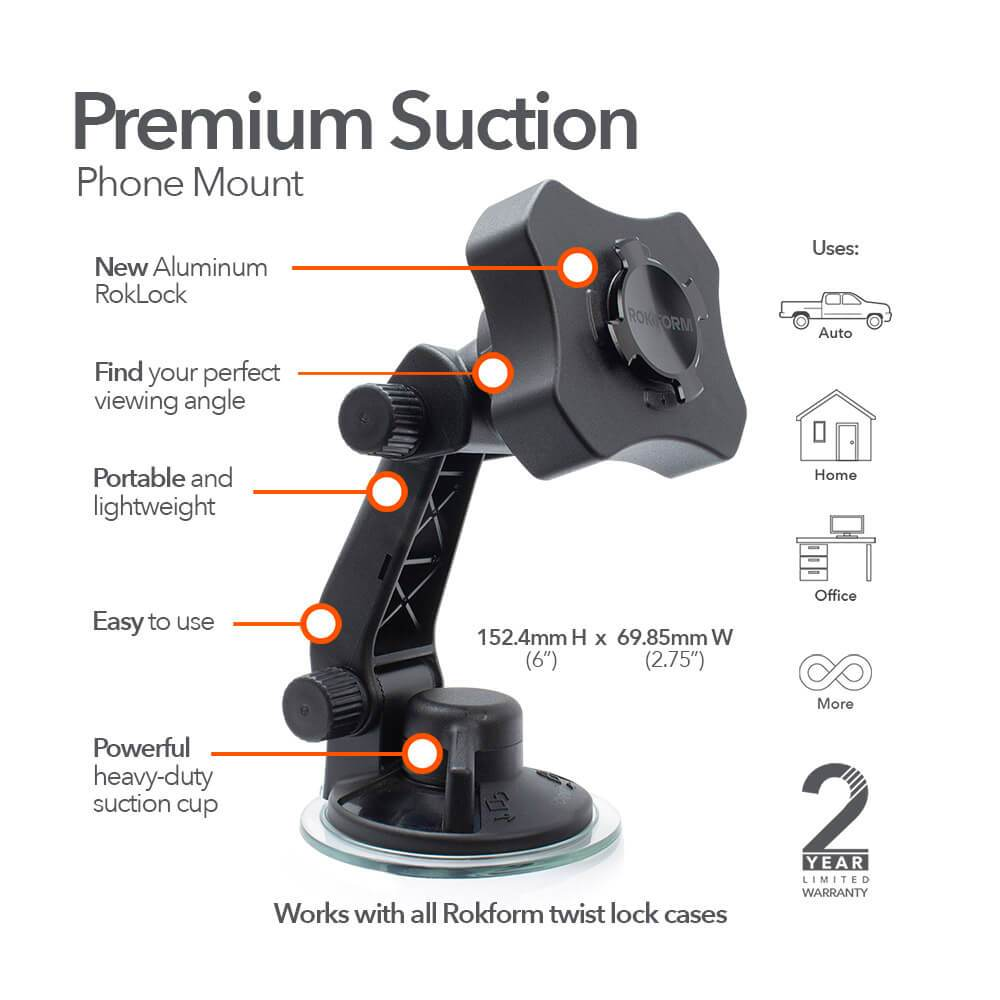 Windshield Suction Mount