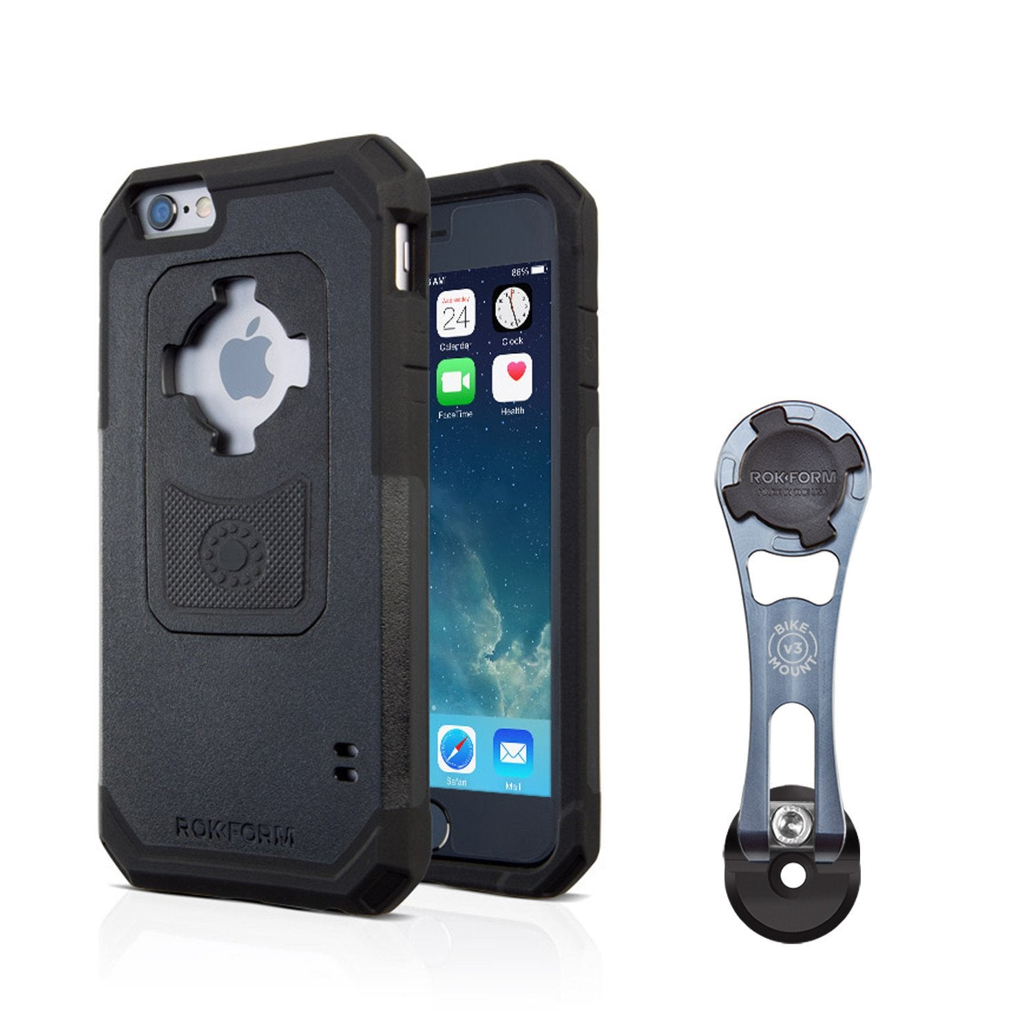 Iphone Bike Mount >> Bike Mount For Iphone 6 6 Plus 5 5s 4 4s And Samsung Galaxy S6