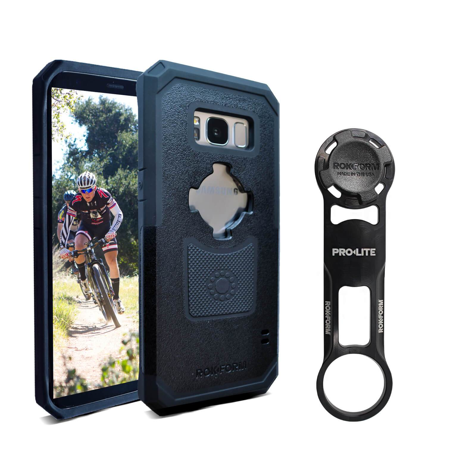 Galaxy S8 PRO-LITE™ Bike Mount Kit - Rokform