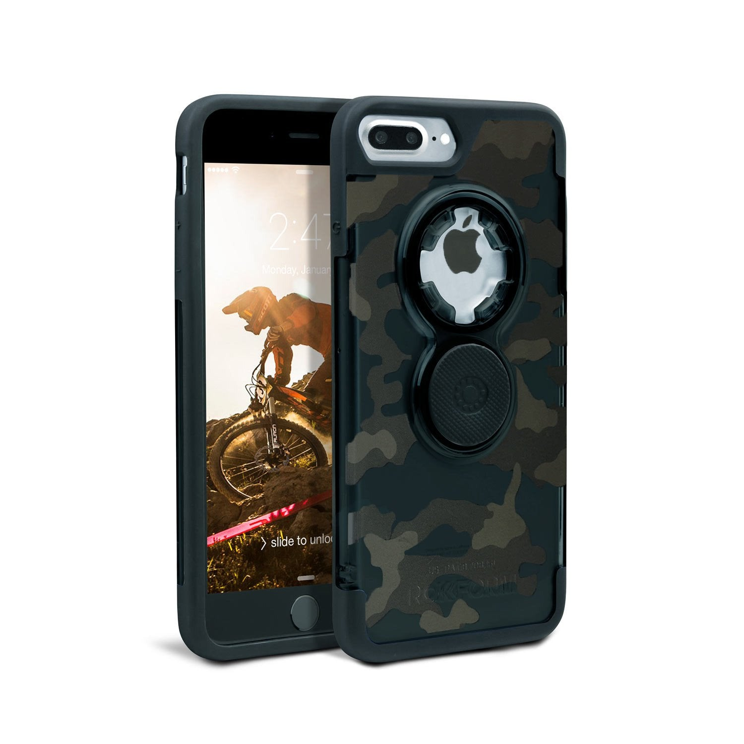 sneakers for cheap b40e0 70dbe iPhone 8 Plus/7 Plus Crystal Camouflage Case