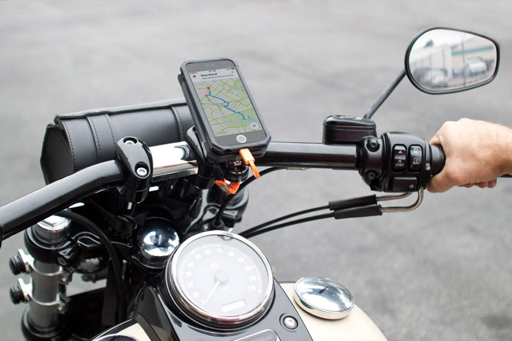 iPhone 8/7 Pro Series Motorcycle Handlebar Mount - Rokform