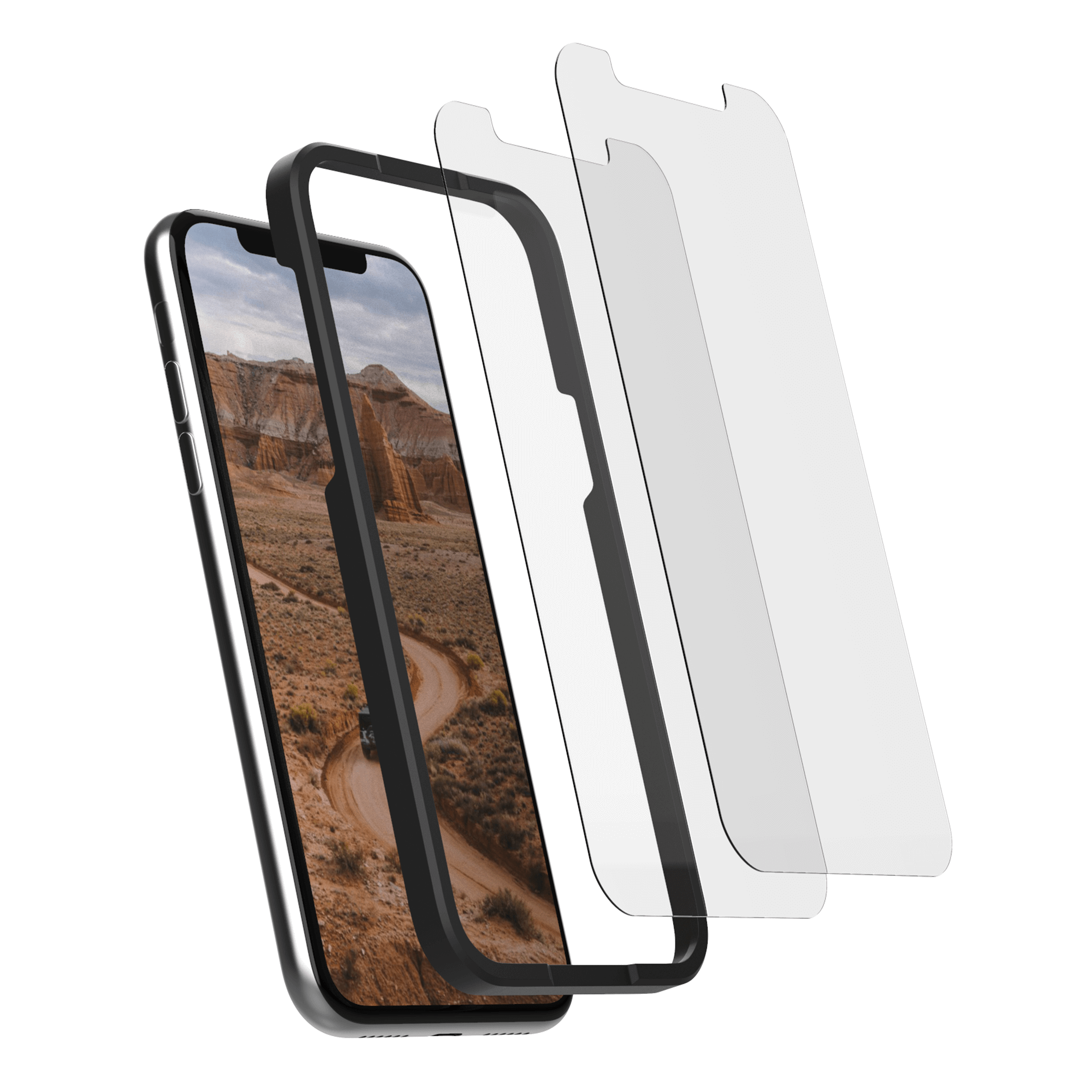 iPhone 11 Pro Max/XS Max Tempered Glass Screen Protector (2 Pack)