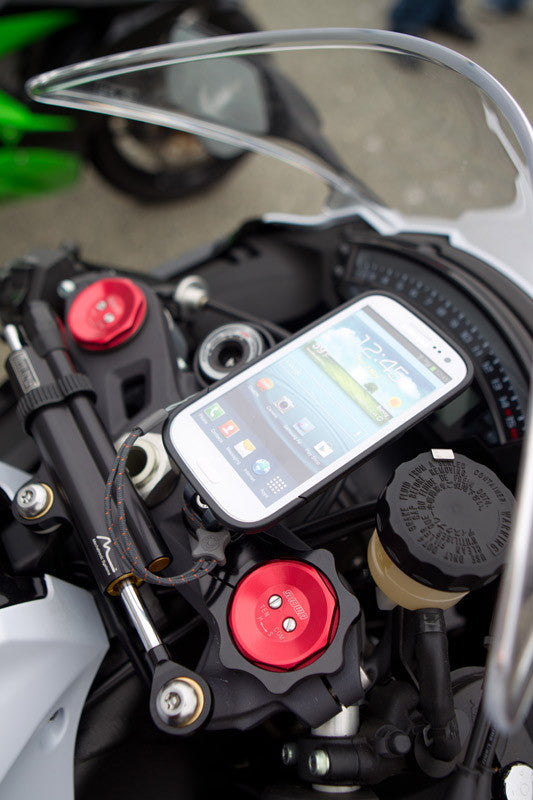 Motorcycle Fork Clamp Phone Mount - Rokform