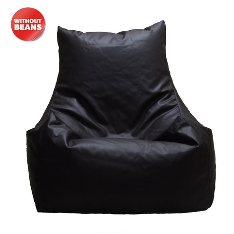 meSleep Brown Bean Bag Chair Without Beans, Color: Multi