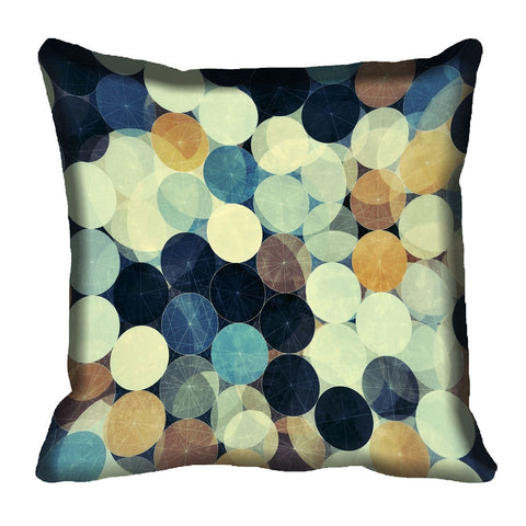 meSleep Abstract Digital printed Cushion, Color: Multi