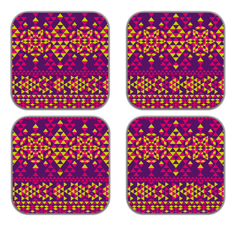 meSleep  Triangle Pattern  Refrigerator Magnets-Set of 4