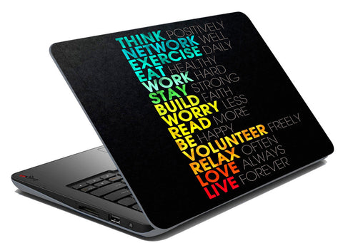 meSleep Motivational Laptop Skins