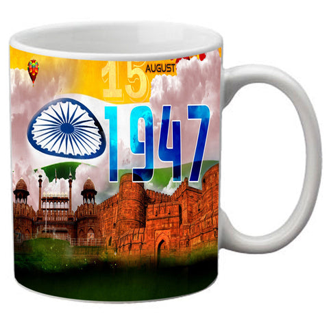 meSleep 15Aug Independence Day Mug