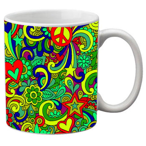 meSleep  Multi colored Paisley  Mug