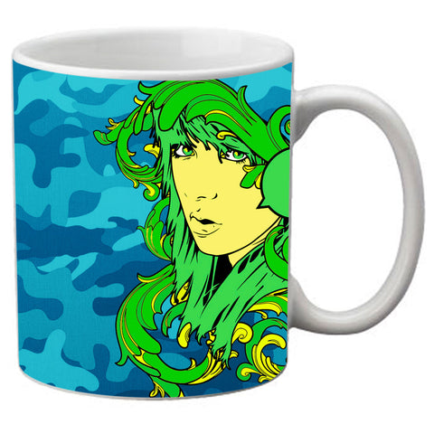 meSleep  Green Girl  Mug