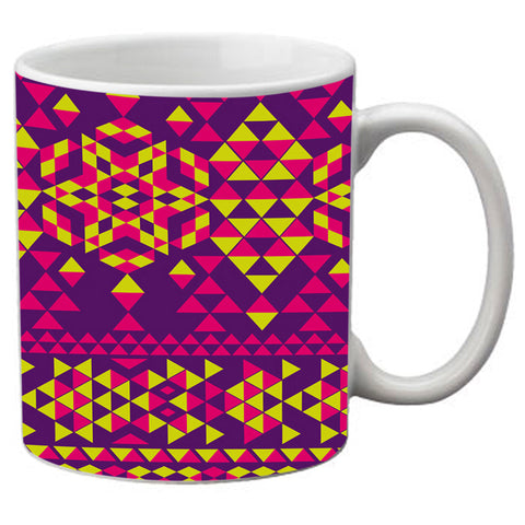 meSleep  Triangle Pattern   Mug
