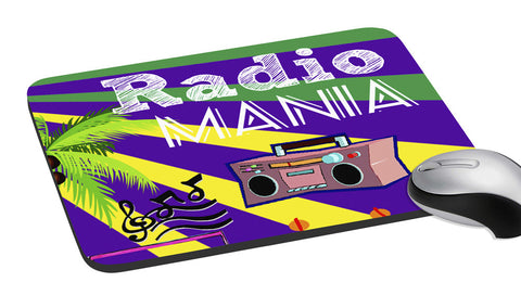 meSleep  Radio Mania  Mouse Pad