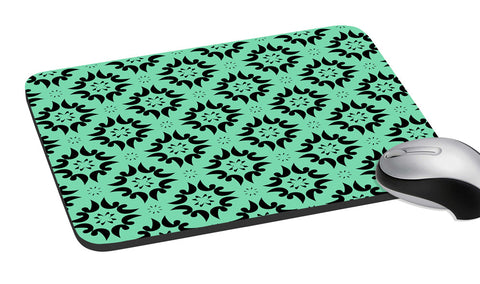 meSleep  Sea Green Pattern  Mouse Pad