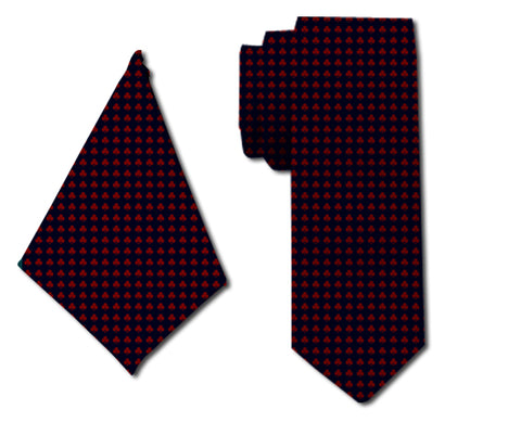 meSleep Voguish Neck Tie with Matching Pocket Square for Men