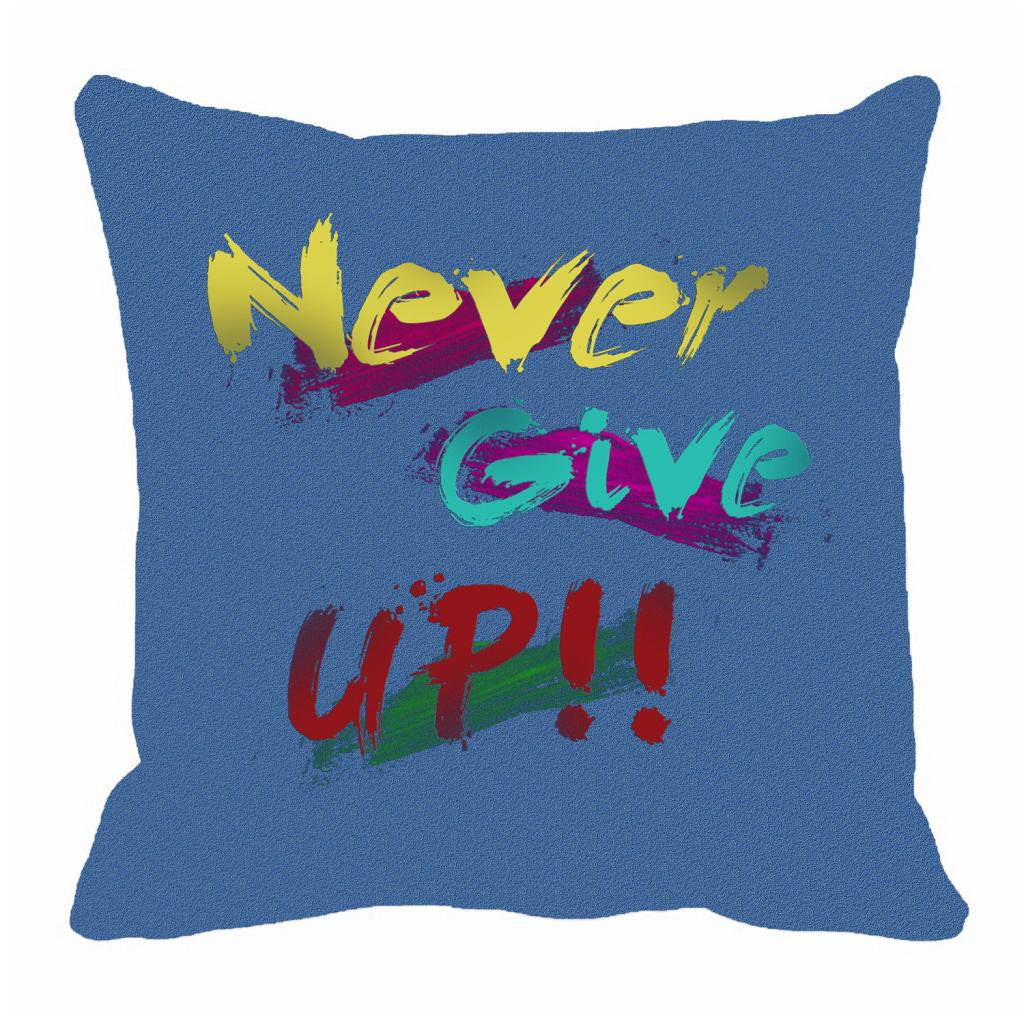 meSleep Never Give Up Cushion, Color: Blue