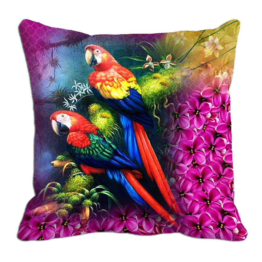 meSleep Parrot Cushion, Color: Pink