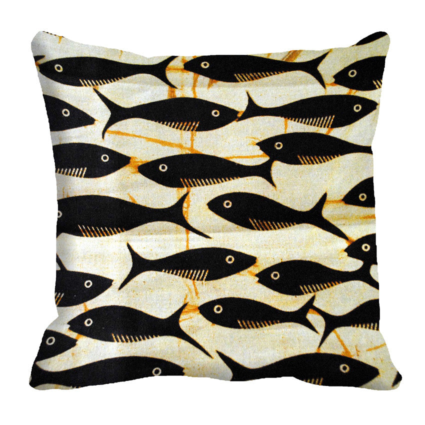 meSleep Fishes 3D Cushion, Color: Gray