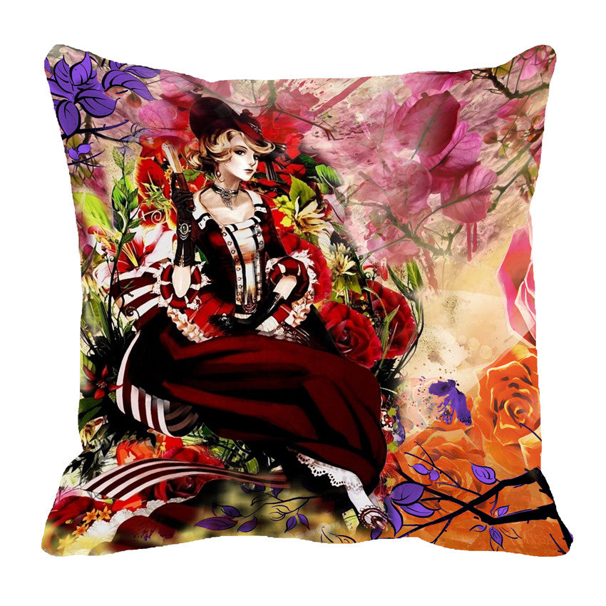 meSleep Victorian 3D Cushion, Color: Red