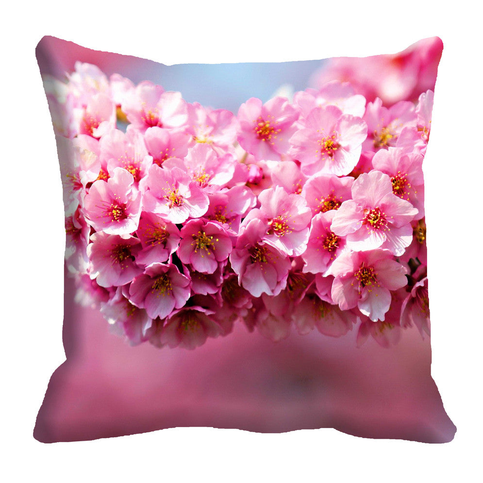 meSleep Pink Flower 3D Cushion, Color: Pink