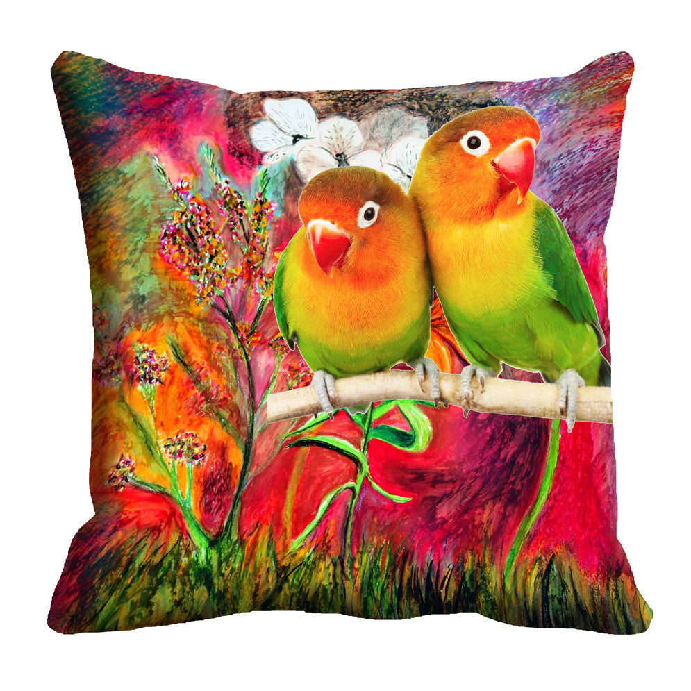 meSleep Parrot 3D Cushion, Color: Multi