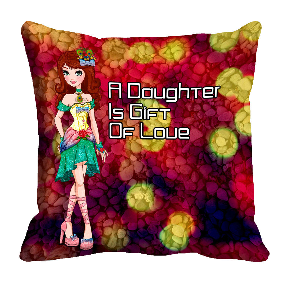 meSleep Girl 3D Cushion, Color: Multi