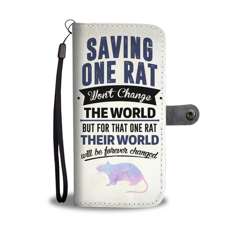 Saving Rats Wallet Phone Case