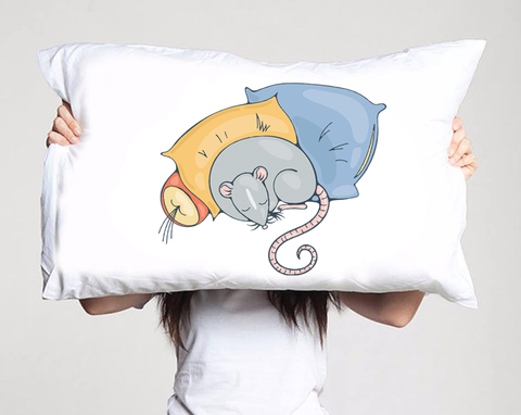 Aww, Rats Pillow
