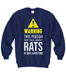 This person talks about rats Shirt