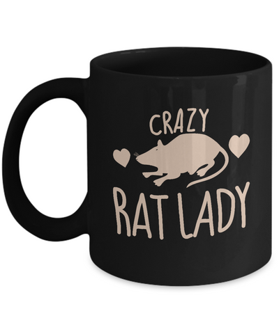 Crazy Rat Lady Mug