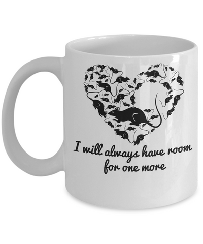Room for more rats mug