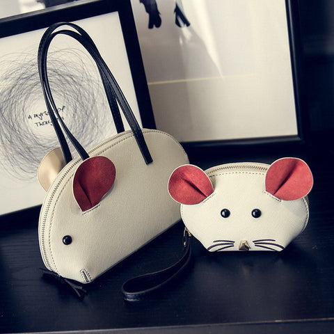 Women Rat-Themed Handbag